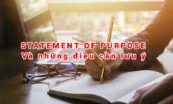 Bài luận Statement of Purpose và những điều cần biết