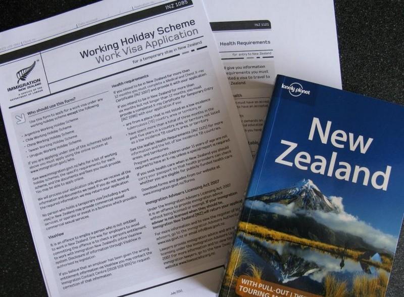 Thủ tục xin visa New Zealand gồm những gì?